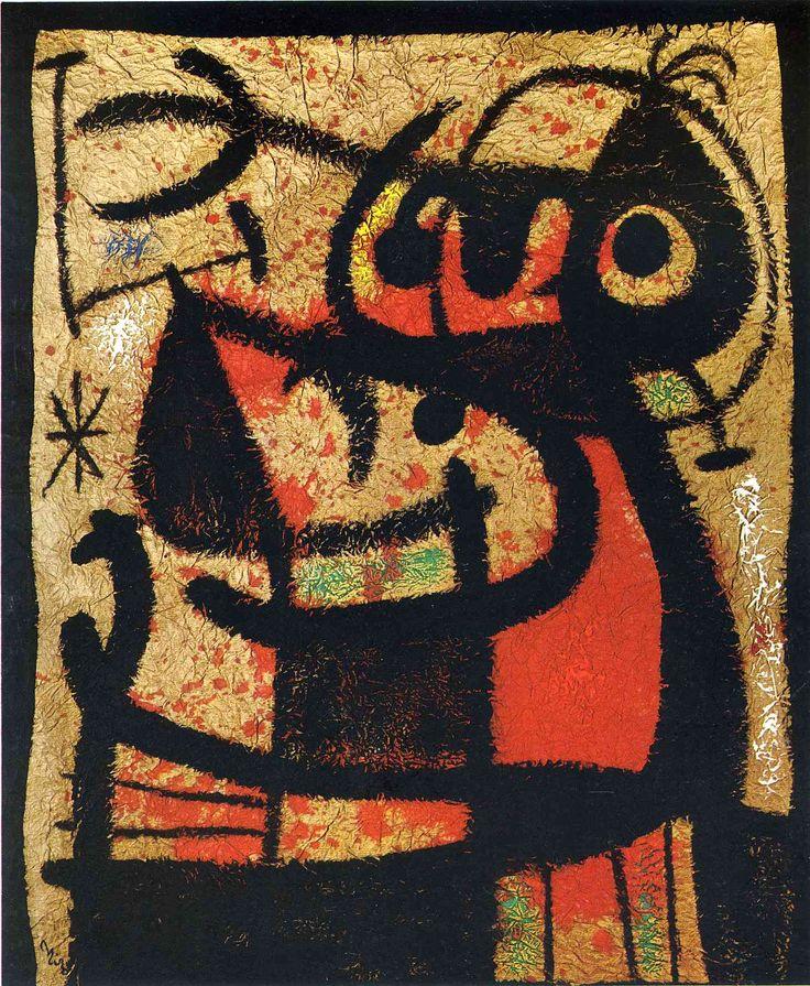 Women and Birds - Joan Miro
