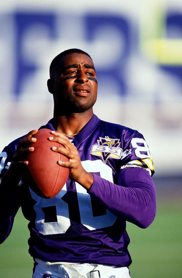 Cris Carter Vikings HQ Glossy 20 x 30 Color Poster 1 ...