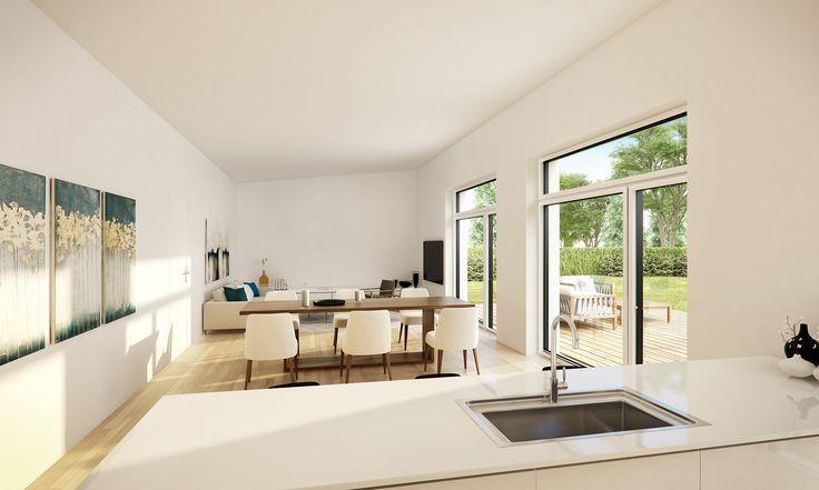 Housing project in Denmark #3D-Vizual, #Architecture #3dvisualizations #render #interior