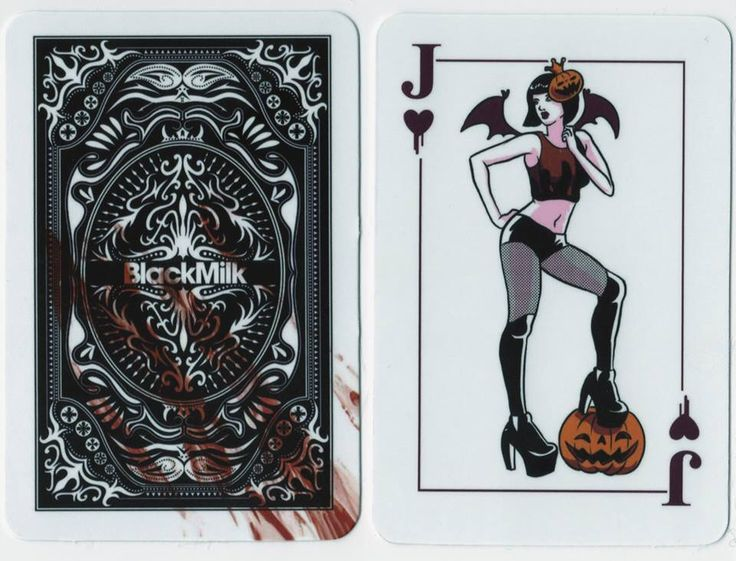 Pulp Horror Jack Playing Card
