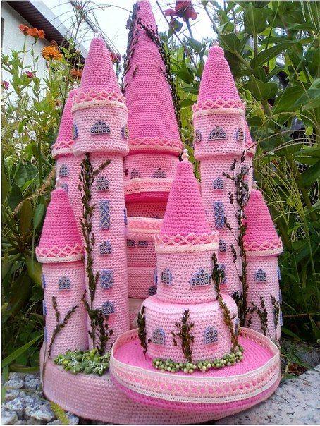 Замок принцессы <br>#Описание@amigurumi_best