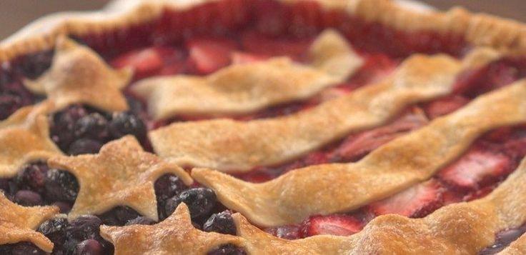Old Glory Berry Pie Header