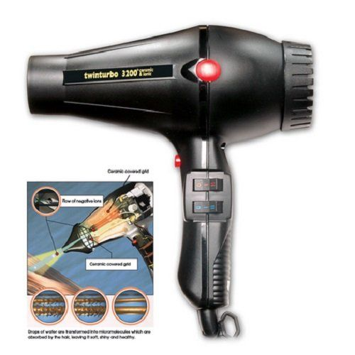 Turbo Power 323A Twinturbo 3200 Ceramic Ionic Professional Salon Hair Dryer >>> You can get more details by clicking on the image.