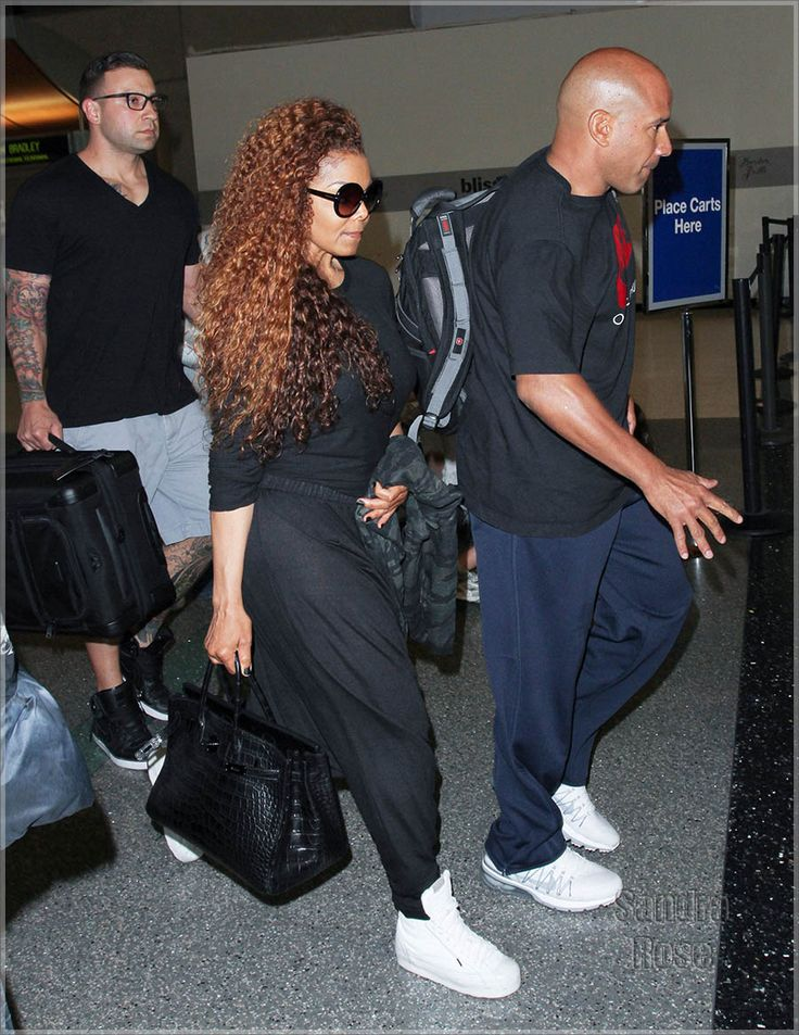 Janet Jackson And Wissam Al Mana Lovely Bags Janet
