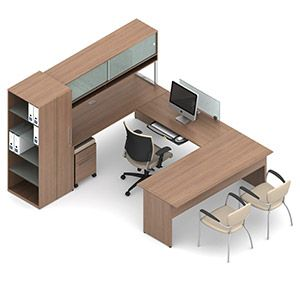 This Princeton Series Executive Furniture Package Boasts Modern Style And  Ample Office Storage.