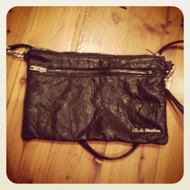 Alexa's new Charlie Middleton bag from Sydney, Australia