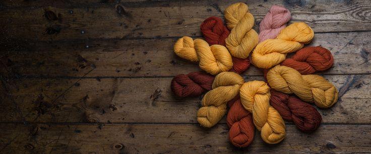 Sun circle from Hifa yarn