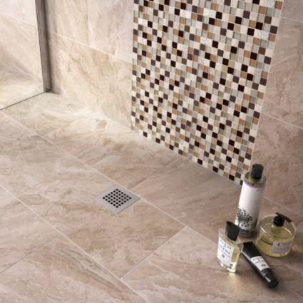 Haver Sand Travertine Effect Ceramic Wall Floor Tile