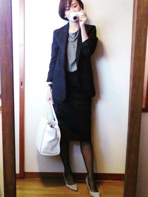 スーツ 40 代 卒業 式