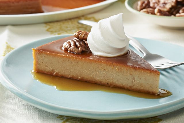 Creamy flan gets a Southern-style twist in this crowd-pleasing dessert. As elegant as it looks, it's actually a snap to make.