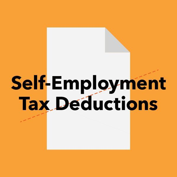 Tax Deductions Guide for Freelancers and the Self-Employed -Self-employment tax: You can deduct half the cost of Medicare and Social Security tax (the portion your employer normally pays for) on form 1040 Line 58. business tips #succeed #business