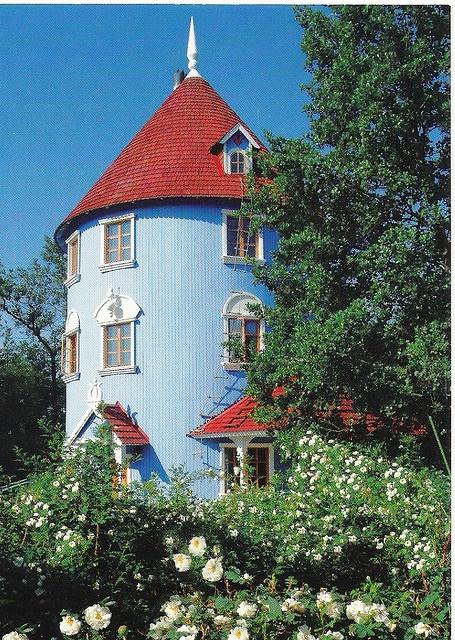 Moomin house in Naantali FINLAND.