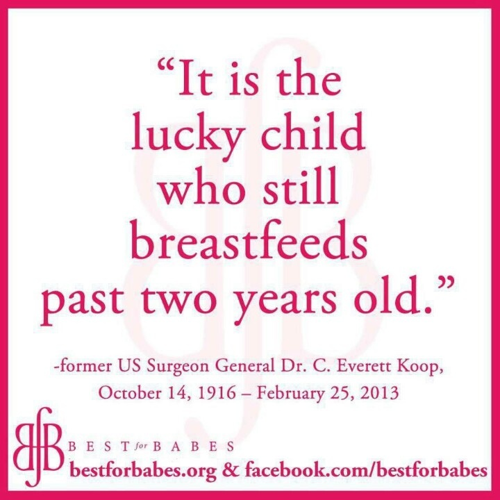 Quote from the former US Surgeon General about #breastfeeding. Courtesy of www.bestforbabes.org