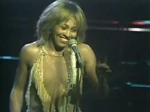 "It doesn't get too much better than this incredible performance. ""People all over the world ask me when am I going to slow down. You know what I tell them? I'm just getting started."" TINA TURNER - PROUD MARY(LIVE 1982)"