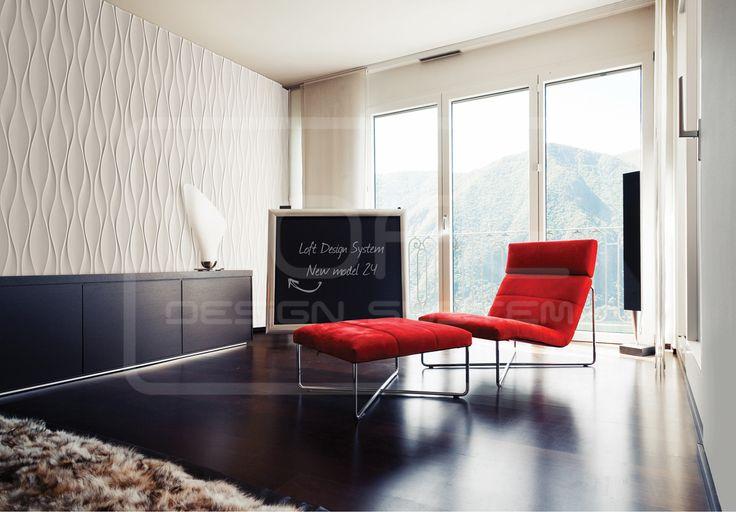 Flow - model 24 - salon/living room. Click at the photo to get more information or to visit our website.  #LoftDesignSystem #loftsystem #Decorativepanels #Inspiration #Interior #Design #wallpanels #3Ddecorativepanels #3dpanels #3dwallpanels #house #home #homedesign #Decorations #homedecorations  #salon #livingroom