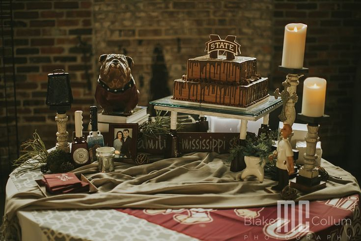 msu grooms cake | ms state grooms cake | soule steam works venue in Meridian, MS by ms event planner southern productions