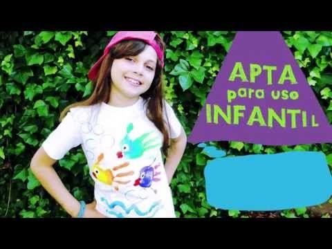 En nuestro taller para aprender a #PintarCamisetas con las manos, esta vez hemos probado con las #Pinturasdetela de la marca vallejoarts&crafts  https://www.youtube.com/watch?v=L7eL9RVh-BM&utm_content=buffere605c&utm_medium=social&utm_source=pinterest.com&utm_campaign=buffer Hemos FLIPADO EN COLORES! Este verano seguiremos aprendiendo a #Pintarcamisetas con los niños se lo pasaron super bien!