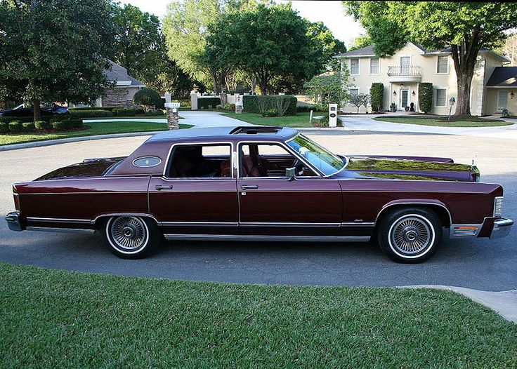 182 best Lincoln 1975-79 images on Pinterest