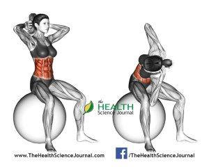 © Sasham | Dreamstime.com - Fitball exercising. Spinal Stretch. Female