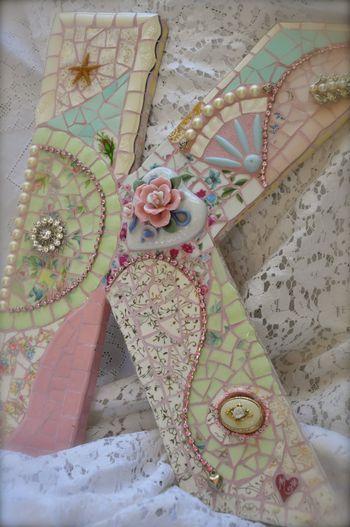 Mosaico pastel