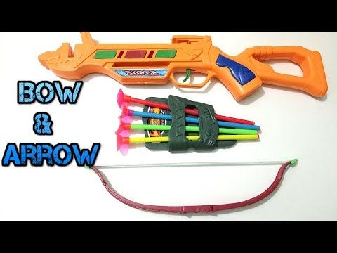 Toy For Kids and Children Powerful Bow and Arrow Set Kids Nerf Rebelle H...