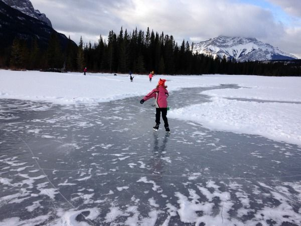 Banff National Park is flush with winter sports and activities for outdoor enthusiasts. Here's a look at Carrot Creek, a secret outdoor ice skating spot.