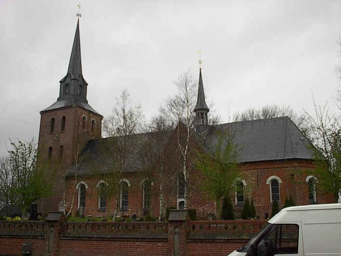 Oldenswort kirke Kreis Eiderstedt