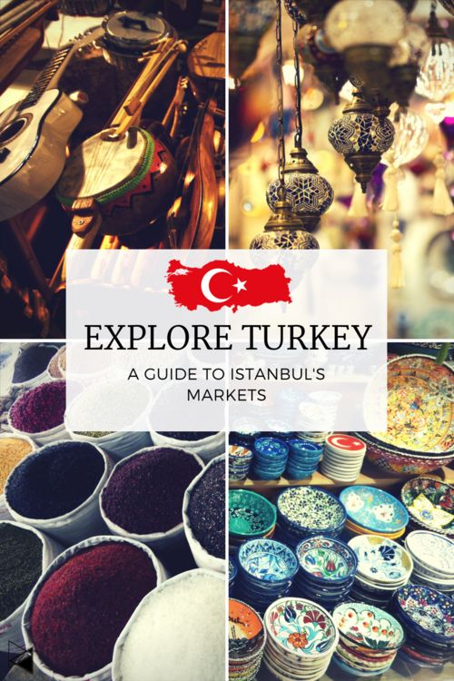 Travel to Istanbul to experience some of the most beautiful markets in the world, full of great food, things for home, clothes, well the list is endless!