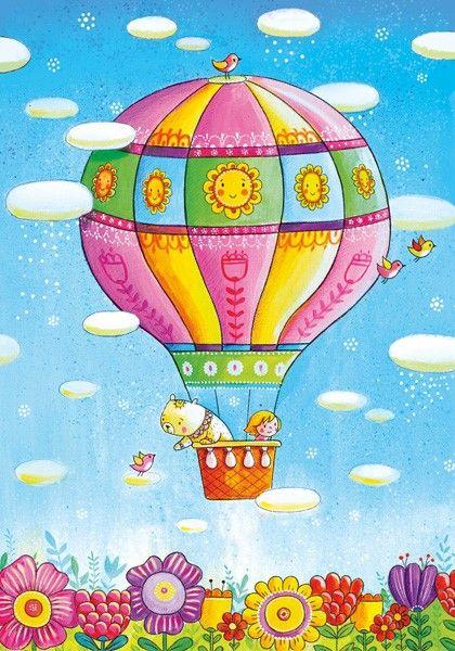 Ия и Ян. Полет на воздушном шаре