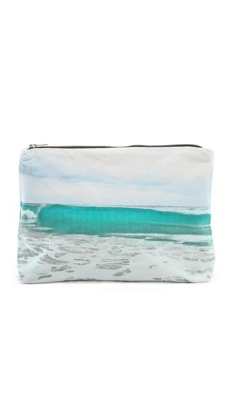 Samudra Tulum Wave Pouch:: I want one of these clutches!!