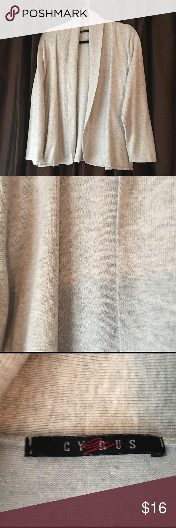 Cyrus Cardigan Ash grey Cyrus Cardigan - 1x Cyrus Sweaters Cardigans