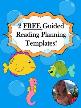Here I offer two of my previous best-selling guided reading planning templates free of charge! Enjoy!