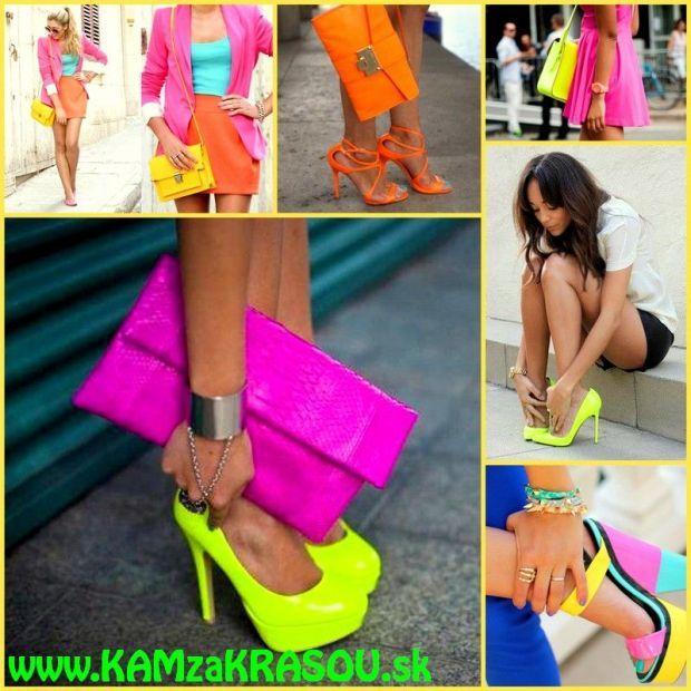Módne trendy - neónové farby