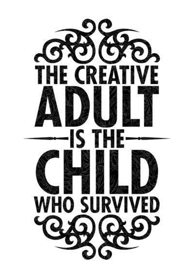‎'Every child is an artist. The problem is how to remain an artist once we grow up.' Pablo PicassoChild Artist Quote, Child Creativity Quotes