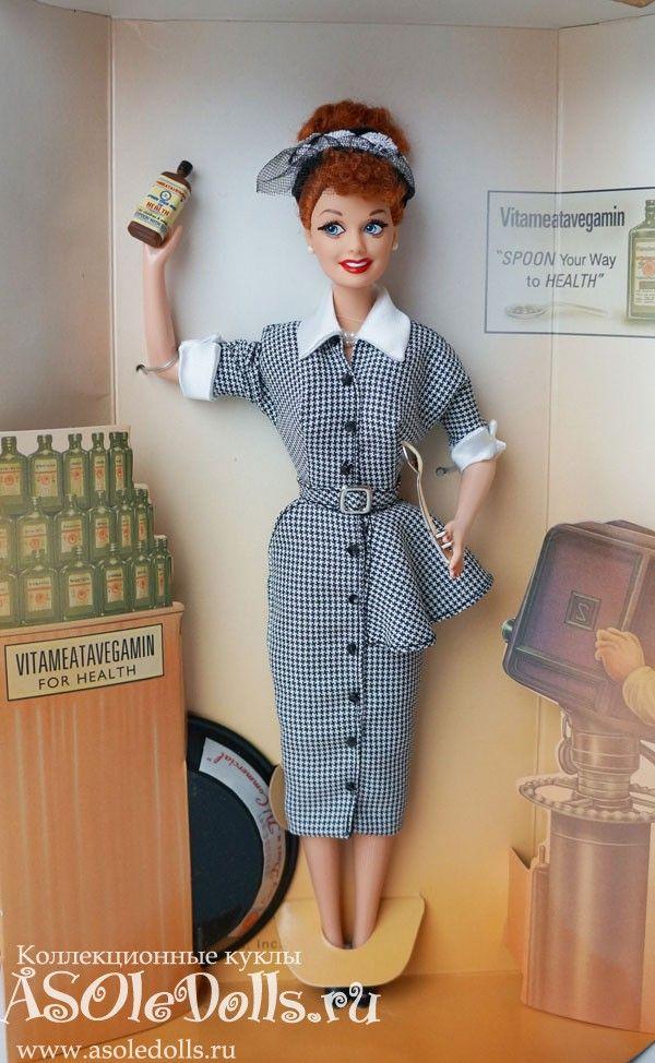 Коллекционная Барби Я ЛЮБЛЮ ЛЮСИ! (промо-ролик) http://www.asoledolls.ru/shop/barbie/professii/lucy_does_a_tv_commercial/