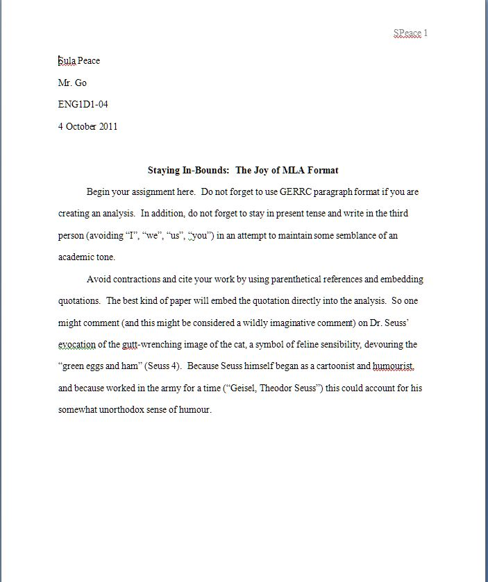 Cover page for apa style research paper