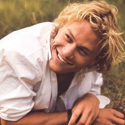 Heath Ledger -- such a loss to the acting world...