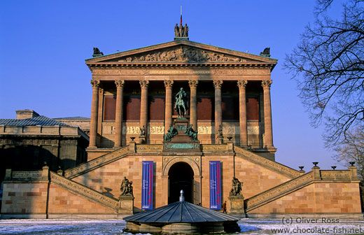 Alte Nationalgalerie, Berlin. Friedrich August Stüler and completed by Carl Busse, 1863-1876. Image: Oliver Ross / Chocolate Fish Photos.