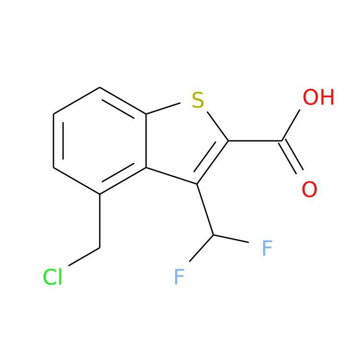 4-(CHLOROMETHYL)-3-(DIFLUOROMETHYL)BENZOTHIOPHENE-2-CARBOXYLIC ACID is now  available at ACC Corporation
