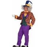 Forum Alice In Wonderland The Mad Hatter Costume, Purple/Orange, Plus Real Reviews