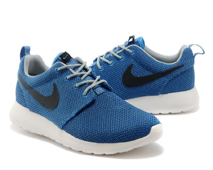 Best Drop Shipping Nike RosheRun Mens running shoes Black gray[511881-330]