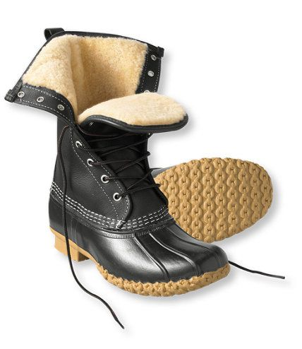 """Women's Bean Boots by L.L.Bean, 10"""" Shearling-Lined: Winter Boots   Free Shipping at L.L.Bean"""