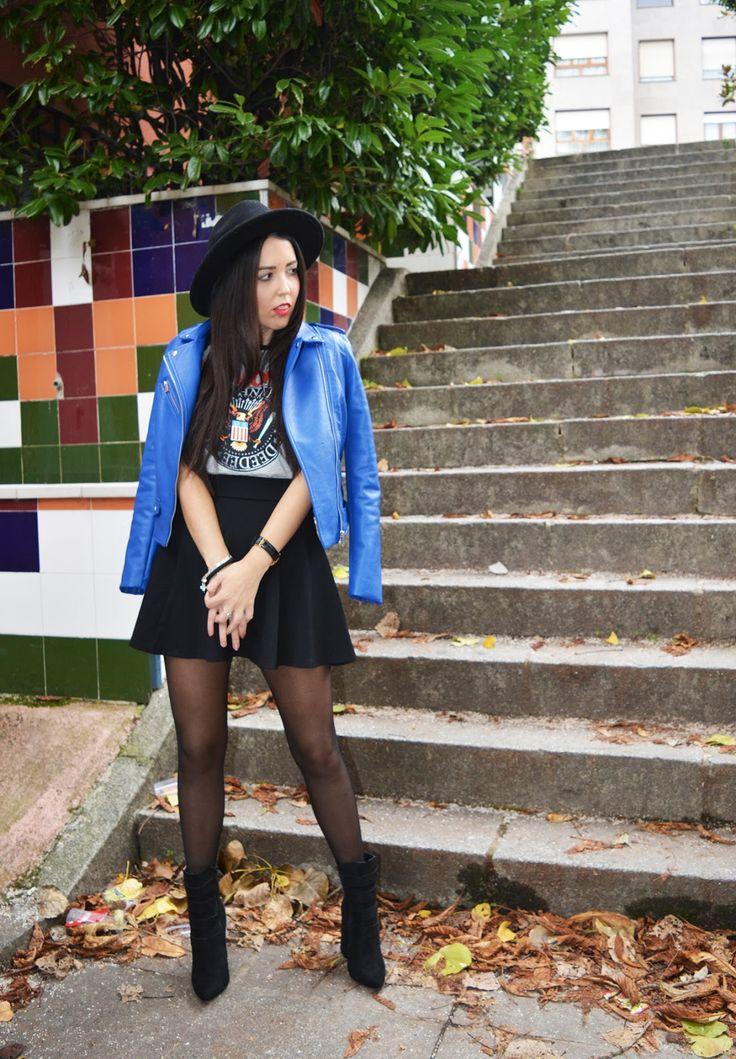 Rock y Azul Klein + Sorteo con MARYPAZ - Brunette Ambition | Fashion and Lifestyle Blogger