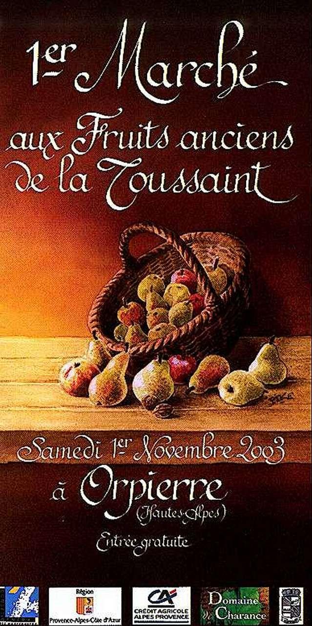 Orpierre 1er Novembre 2003 #orpierre #produitslocaux #baronnies