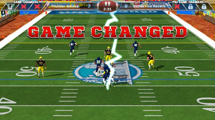 Control the field and forces of nature with Jamaal's GAME CHANGERS as you strike your opponent with lightning, create an earthquake or knock them flat with an incredible D-Fence. All the while earning bucks to play in your team colours, draft pro players and give your team and extra energy kick. http://fnky.link/unleashed