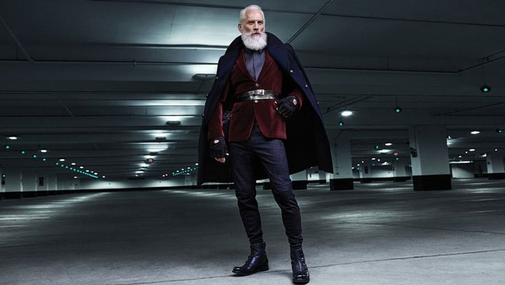 Meet Paul Mason, the Fashion Santa! Mason, who's been modeling for 30 years, looks like a thin, younger version of the Santa everyone knows. He can be found at Toronto's Yorkdale Mall, which will donate $1 to the SickKids Foundation for every person who snaps a selfie with Mason and posts it on social media using the hashtag #YorkdaleFashionSanta.: