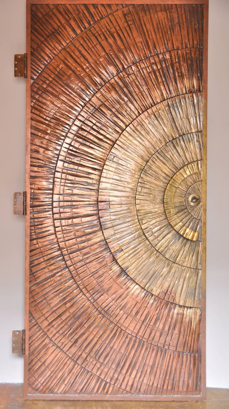 1970s California Modern Sunburst Door | From a unique collection of antique and modern doors and gates at https://www.1stdibs.com/furniture/building-garden/doors-gates/
