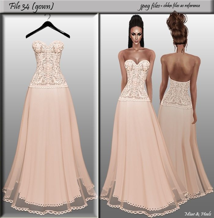 Dress Sellfy Textures Imvu Wedding
