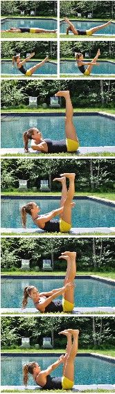 Best Abs Exercises of All Time -  really tones the #ABS! #fitness #workout