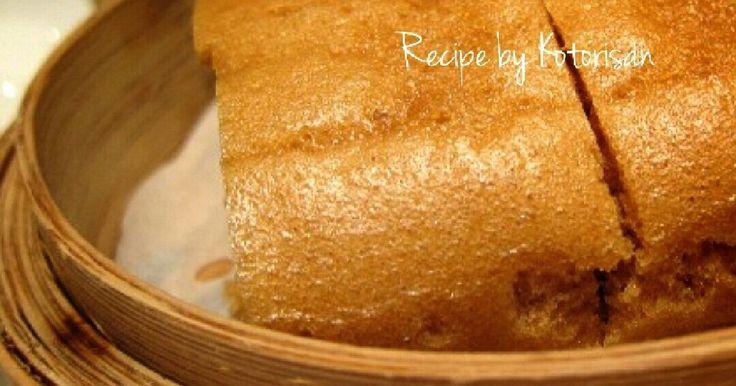 ホットケーキミックスでとっても簡単に作れる自慢の中華風蒸しカステラです❁ フワフワ、もちもち、しっとりで、幸せ気分♡